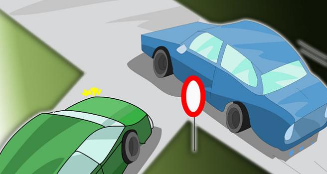Nhường đường cho xe khác